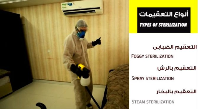 Disinfection for Office or One Room