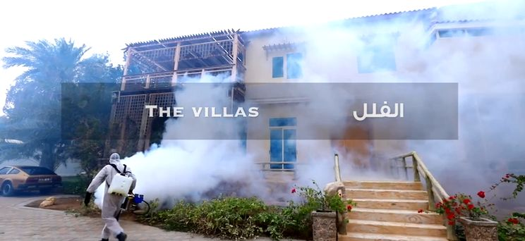 Disinfection of Villa Indoor and Outdoor